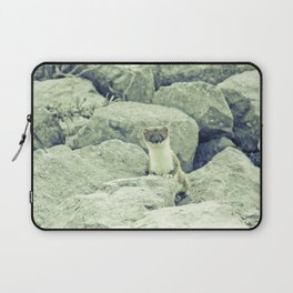 Stoat be Alarmed Laptop Sleeve