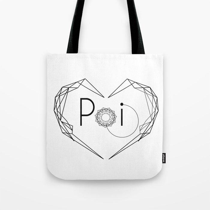 I love POI Tote Bag