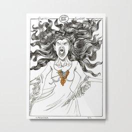 Screaming Banshee Metal Print