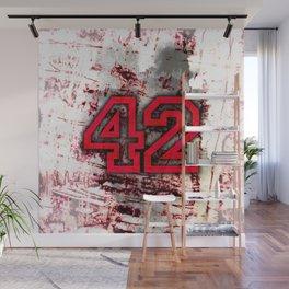 42 Wall Mural