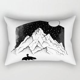 Mountains Friends Rectangular Pillow
