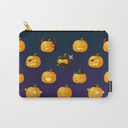 Halloween Jack-o'-lantern Carry-All Pouch