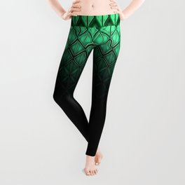Future Scales Green Leggings