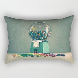 world is better without intolerance Rectangular Pillow