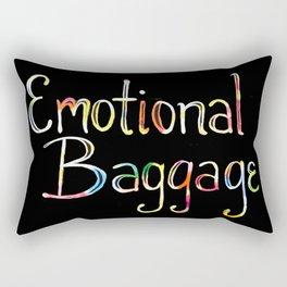 Emotional Baggage Rectangular Pillow