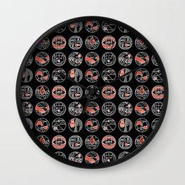 top pattern II Wall Clock