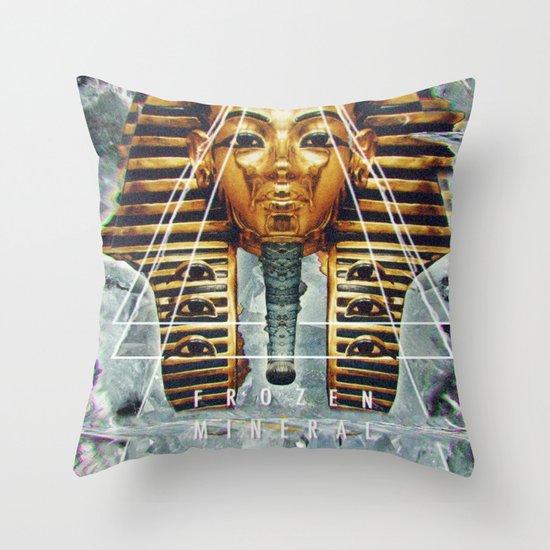 MYSTIC//PHARAOH Throw Pillow