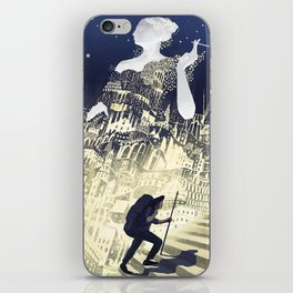 Europa & The Traveller iPhone Skin