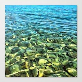 The Seashore Canvas Print
