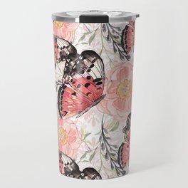 Flowers & butterflies #3 Travel Mug