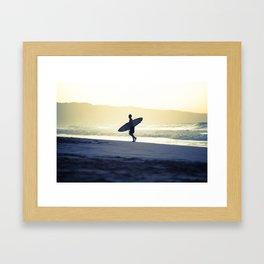 North Shore Dusk - Hawaii Seascapes #4 Framed Art Print