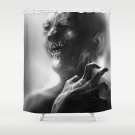 Suspicieux Shower Curtain