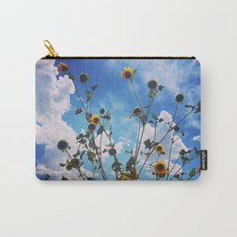 Wild Sunflowers Carry-All Pouch
