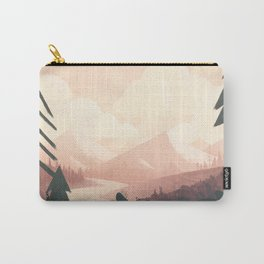 undiscovered - mountains Carry-All Pouch