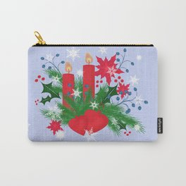 Christmas background . Carry-All Pouch