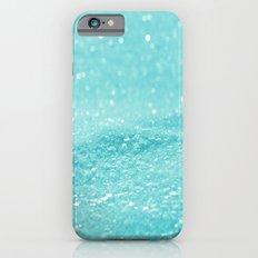 Glitter Turquoise Slim Case iPhone 6