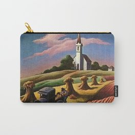 Missouri Landscape by Thomas Hart Benton Carry-All Pouch