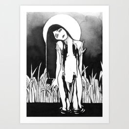 Gorged  Art Print
