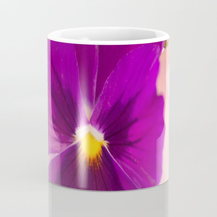 Flower Bouquet in Purple and Pink Colors  #decor #society6 #buyart Coffee Mug