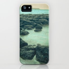 The Beach of the Rocks iPhone Case