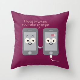 Power Is the Ultimate Aphrodisiac Throw Pillow