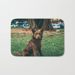 Dog by Treddy Chen Bath Mat