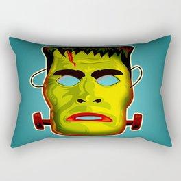 Frankenstein Monster Mask Rectangular Pillow