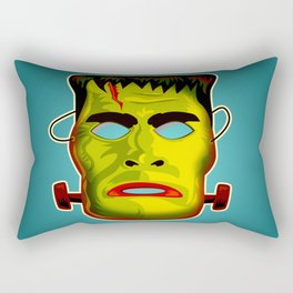 Frankenstein Monster Mask Rectangular Pillow