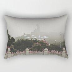 Hong Kong Tian Tan Buddha Rectangular Pillow
