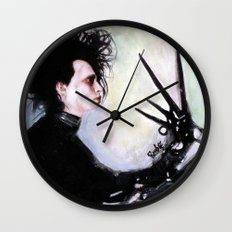 Edward Scissorhands: The story of an uncommonly gentle man. Wall Clock