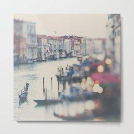 winter in Venice ... Metal Print