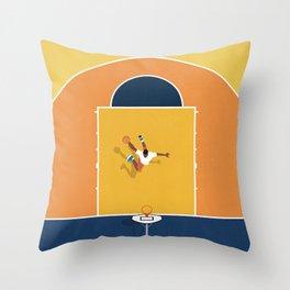 Basketball Vibes  Throw Pillow