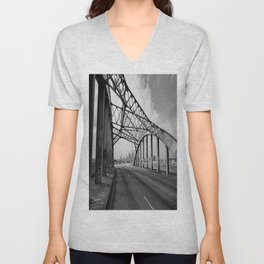 Sixth Street Viaduct Bridge - LA 02/30/2016 Unisex V-Neck