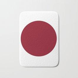 Red I. Bath Mat