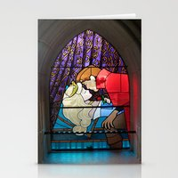 sleeping beauty Stationery Cards featuring Sleeping Beauty  by MargaHG