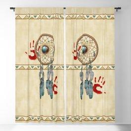 Catching Spirit Native American Blackout Curtain