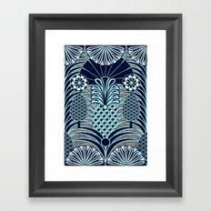 Arty Pineapples Framed Art Print