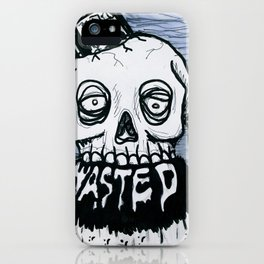 wasted iPhone Case