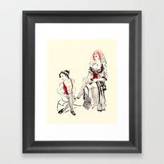 Cabaret Cafe Framed Art Print
