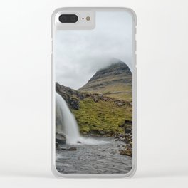 Drops In The River Clear iPhone Case