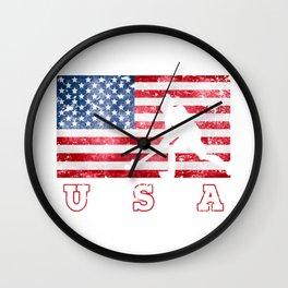 Team USA Field Hockey on Olympic Games Wall Clock
