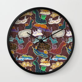 Nudibranchia Wall Clock