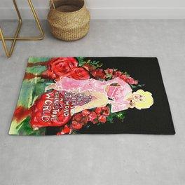 Dolly Parton Diamond Rug