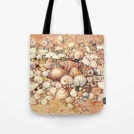 Shells on Sand Tote Bag