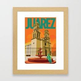 Catedral de Juarez Framed Art Print