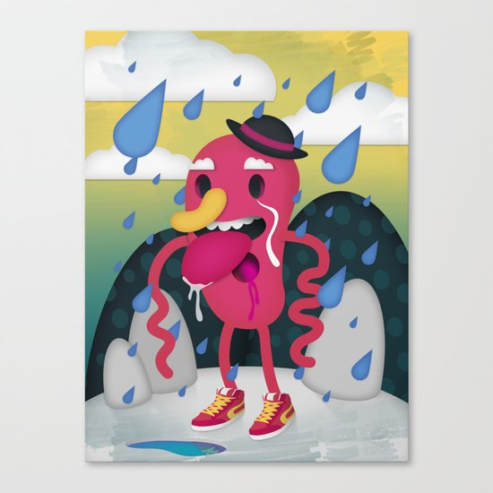 Drip Drop Canvas Print