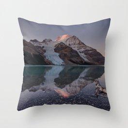Mt. Robson Throw Pillow