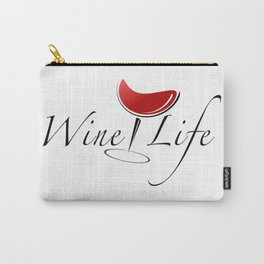Wine Life Carry-All Pouch