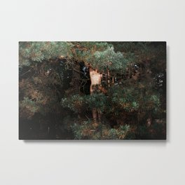 The Eyes of the Forest Metal Print