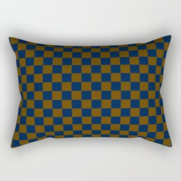 Deep Check Rectangular Pillow